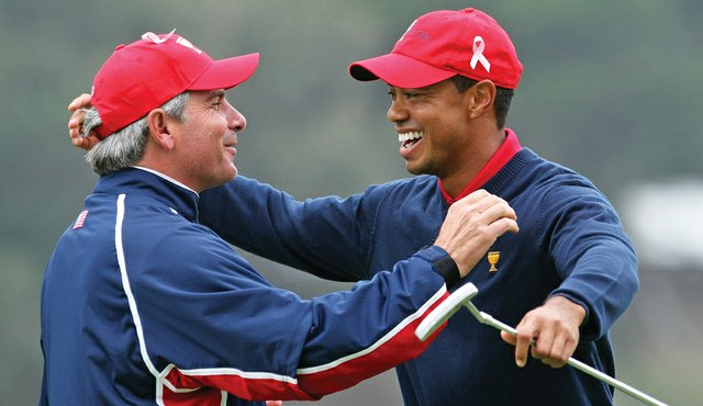 Fred Couples' choice of Tiger Woods may seem questionable to some, but not to Woods' U.S. teammates.