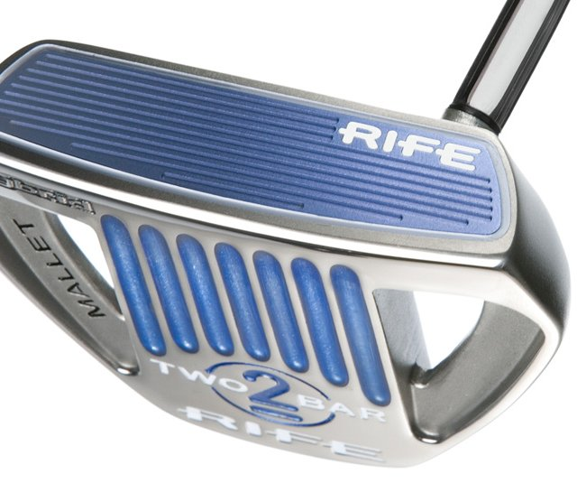 Rife&#39;s Two Bar Hybrid putter 