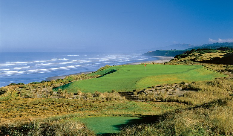 A book detailing the creation of Bandon Dunes Golf Resort, which began with the eponymous course (No. 6 pictured), is one of the must-reads in the golf-travel genre.
