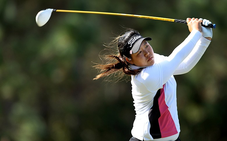 Christine Song during Round 2 of LPGA Q-School.