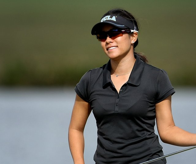 Stephanie Kono during the third round of LPGA Qualifying Tournament at LPGA International.