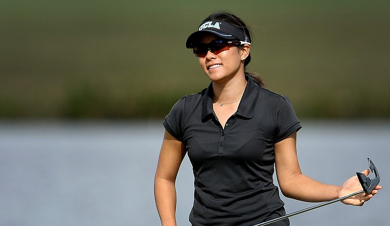 Stephanie Kono during the third round of LPGA Qualifying Tournament at LPGA International.
