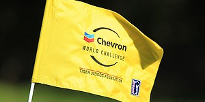 Chevron out as sponsor of Tiger's event