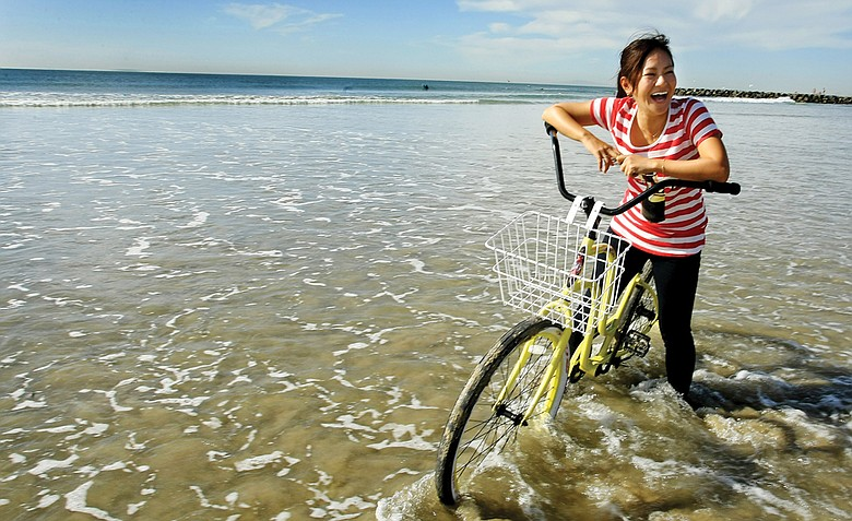 Ai Miyazato during her Golfweek For Her photo shoot in California in early 2011. The shoot happened only weeks before a earthquake and tsunami devastated Miyazato's home country of Japan.