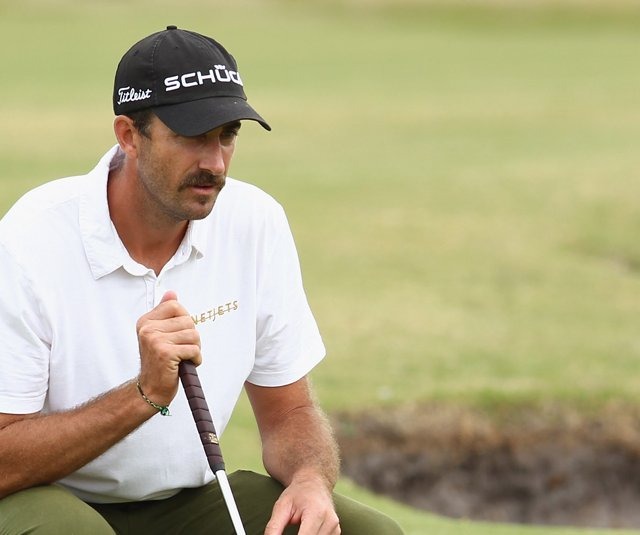 Geoff Ogilvy during the Australian Masters.