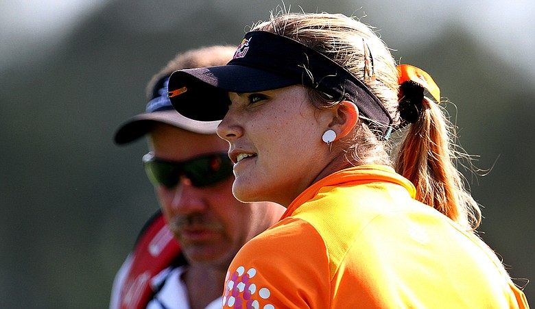 Lexi Thompson earned her second career victory at the Dubai Ladies Masters.