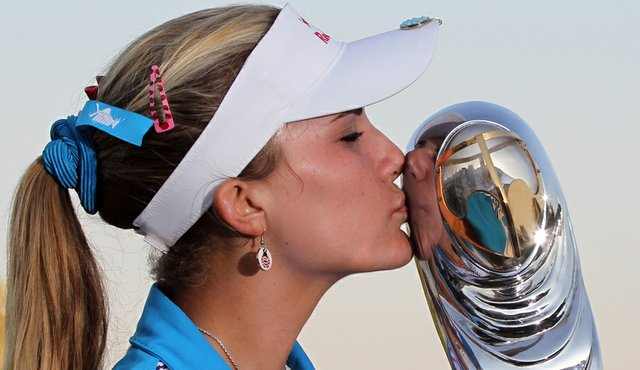 Lexi Thompson, 16, won her second career title at the Dubai Ladies Masters.