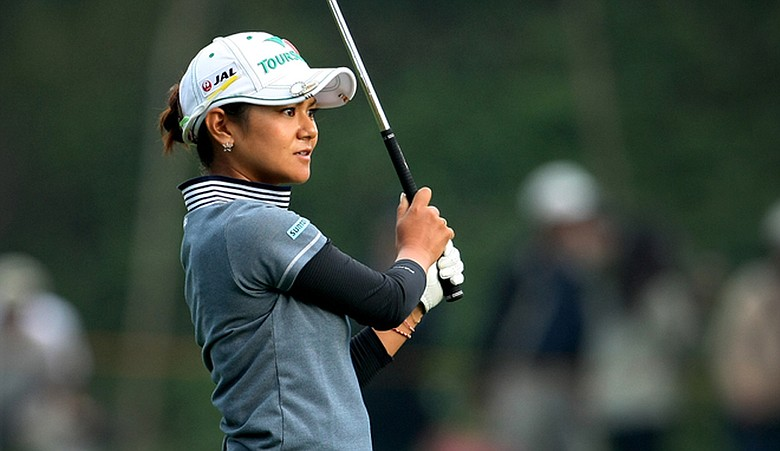 Ai Miyazato during the Sunrise LPGA Championship.