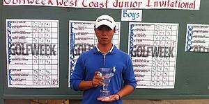 Lee, Iida win titles at Golfweek West Coast Junior