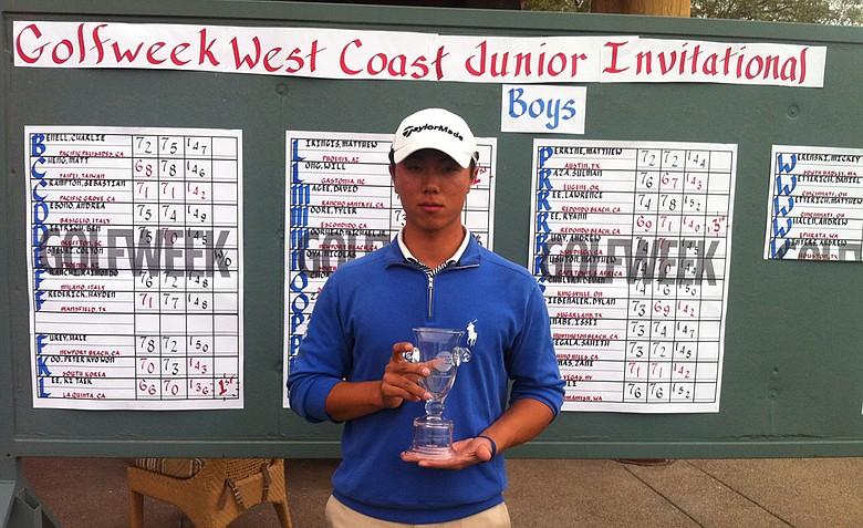 Ki Taek Lee won the Golfweek West Coast Junior Invitational at Whirlwind Golf Club in Chandler, Ariz.