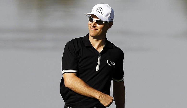 Ben Crane during the second round of the Humana Challenge.
