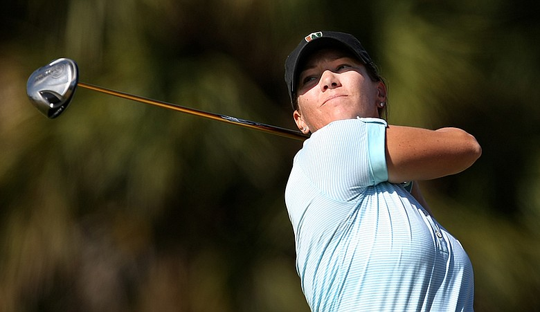 Meghan Stasi during the South Atlantic Amateur.