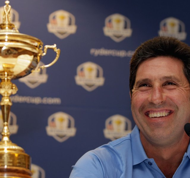 European Ryder Cup captain Jose Maria Olazabal