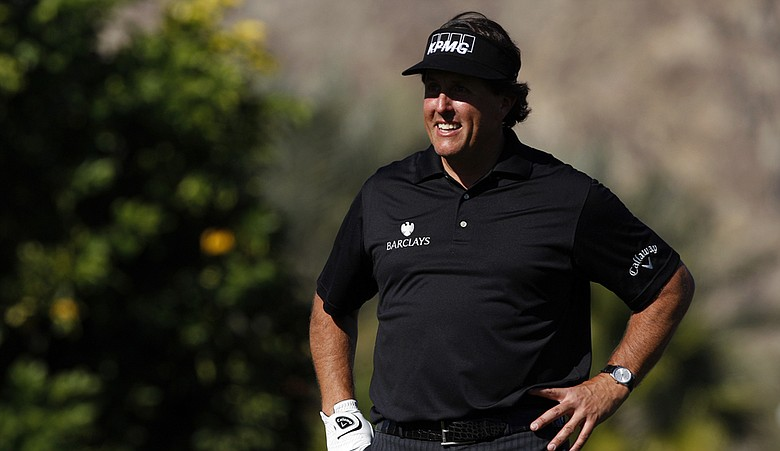 Phil Mickelson during the Humana Challenge.