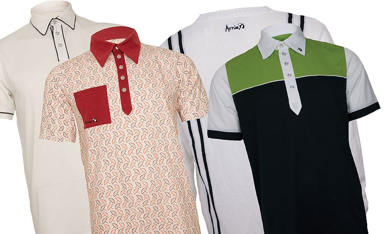 'Arnie' apparel will honor the look of Arnold Palmer some 50 years ago.