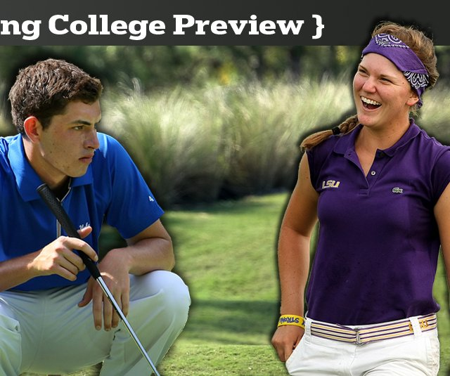 Patrick Cantlay, of UCLA, and Austin Ernst, of LSU