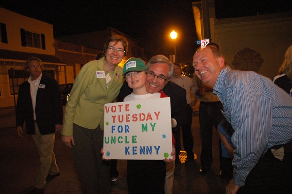 Winter Park Mayor Ken Bradley won a decisive victory on Tuesday night against challenger Nancy Miles.