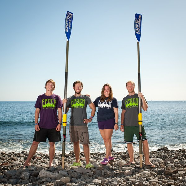 Team Epoch includes Jonathan Crane, Christopher Crane, Sonya Baumstein and Oliver Levick. The team finished eighth in the Talisker Whiskey Atlantic Challenge on Jan. 30.