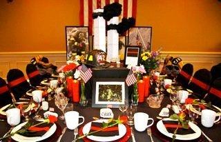 Extraordinary tables at Holy Trinity Conference Center, Maitland