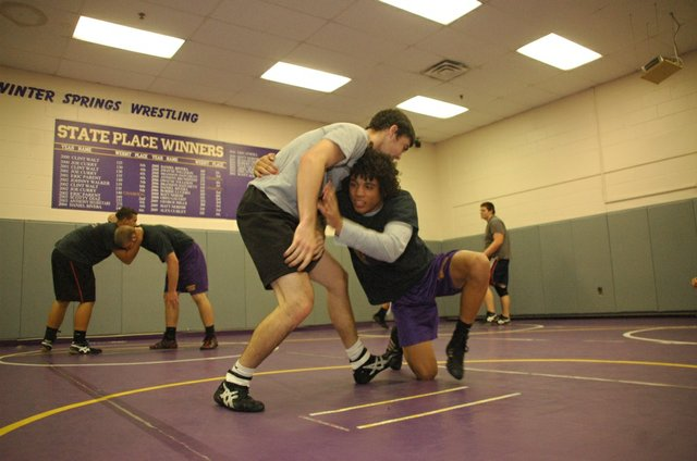 Winter Springs wrestling is gearing up for a rematch against rival Oviedo at the district tournament.