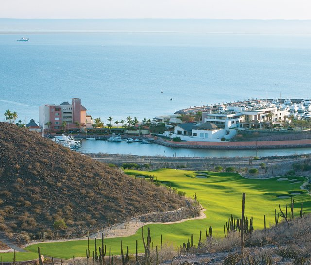 The 14th hole at CostaBaja