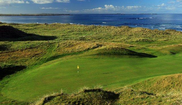 Carne Golf Links in Ireland.