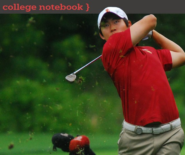 Steve Lim of USC during the 2011 NCAA Championship