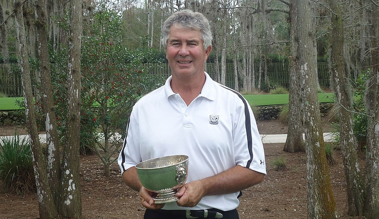 Dick Pfeil, winner of the Gateway Senior and the Golfweek National Championship.