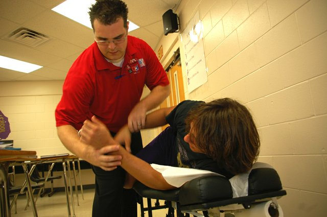 Chiropractor Dr. Matthew Herba will head to London as an official trainer for the 2012 U.S. Olympic team.