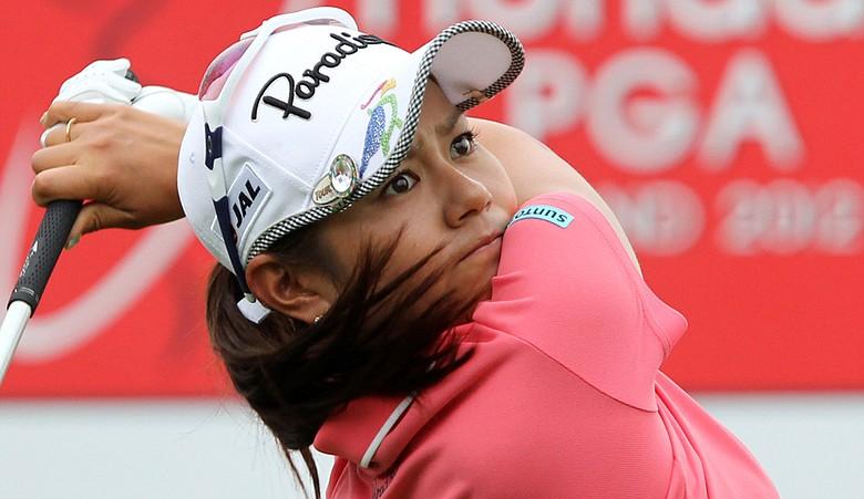 Ai Miyazato during the third round of the LPGA Thailand golf tournament.