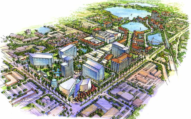 Ravaudage developer Dan Bellows said he'd be able to build the mixed-use development faster if Maitland allows him to sell off environmental impact fee credits.