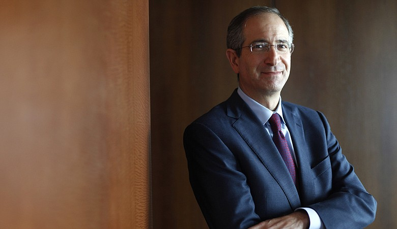 Comcast Corporation Chairman and Chief Executive Officer Brian Roberts poses for a photograph in Philadelphia in 2010.