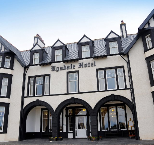 Machrihanish Golf Club is still difficult to reach, but a big step recently was made to solve the accommodations problem. Southworth Development last week opened the renovated Ugadale Hotel.