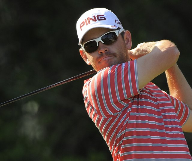 Louis Oosthuizen during the Honda Classic.