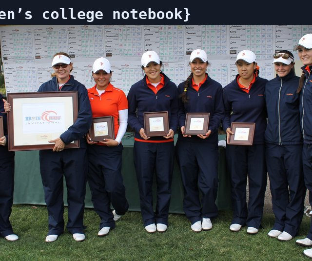 Pepperdine after winning the Bruin/Wave Invitational.