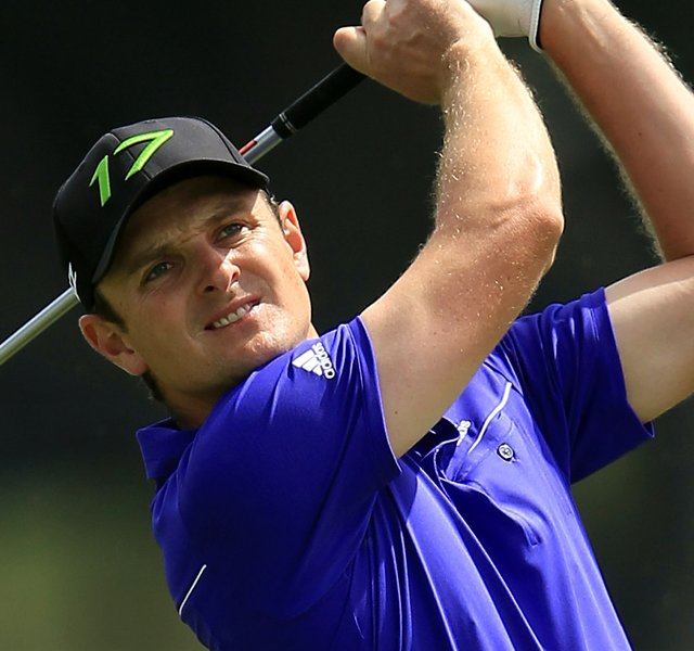 Justin Rose fired a 1-under 71 to win the WGC-Cadillac Championship by one stroke over Bubba Watson.