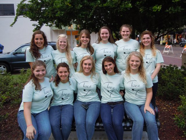 Winter Park High School's all-girl a cappella group won the Southeast title at the ICHSA Regionals Feb. 4.