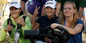 Tseng, Park top LPGA Founders Cup leaderboard