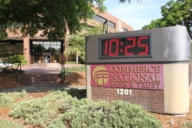 Winter Park's Commerce National Bank and Trust was issued a consent order by the federal government to get it to comply to regulations that it was lagging behind on.