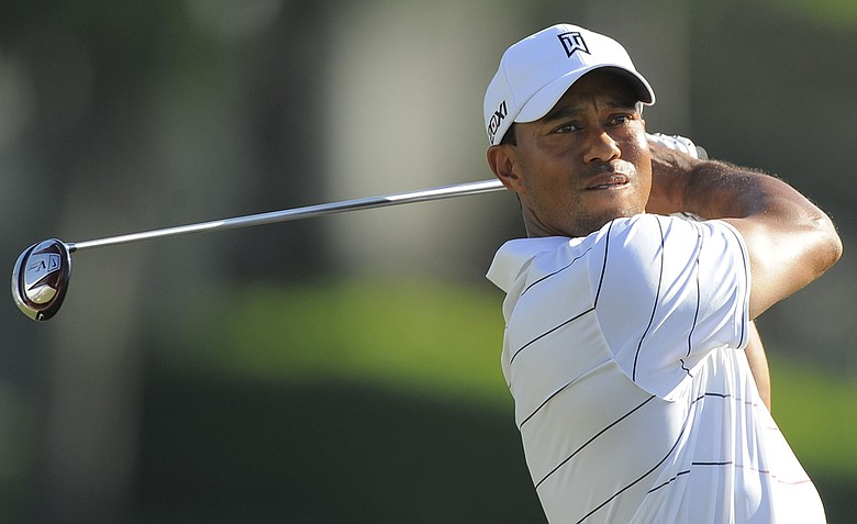 Tiger Woods during the second round of the Arnold Palmer Invitational.