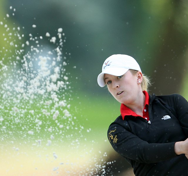 Whitney Neuhauser during the 2008 U. S. Women's Amateur Championship.