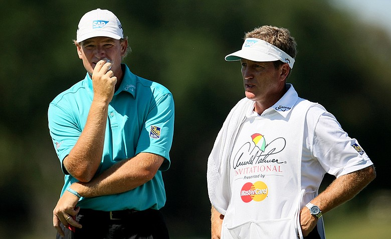 Ernie Els at No. 6 during the the final round of the Arnold Palmer Invitational.
