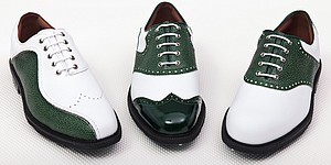 FootJoy's offering: customized green shoes