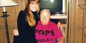 Creamer's tearful goodbye to 'Pops'