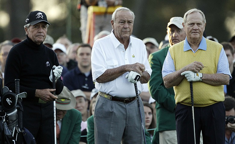 Gary Player, Arnold Palmer and Jack Nicklaus will play in a pro-am that will aid the Quigley family in caring for their son, Devon.