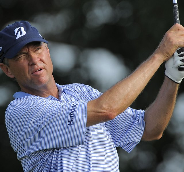 Davis Love III during Round 3 of the Honda Classic.