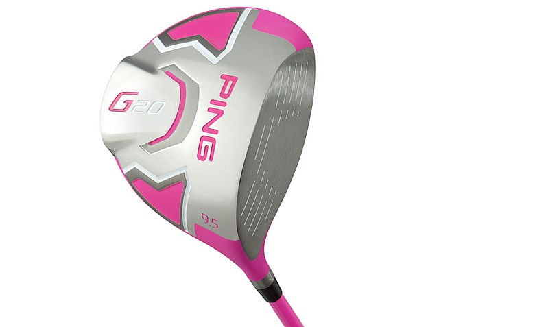 Ping's pink driver
