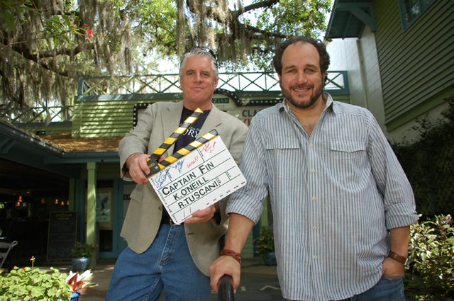 "Filmmaker Kevin O'Neill's film ""Captain Fin"" and Jesse Wolfe's ""Eye of the Hurricane"" will show at the Florida Film Festival."