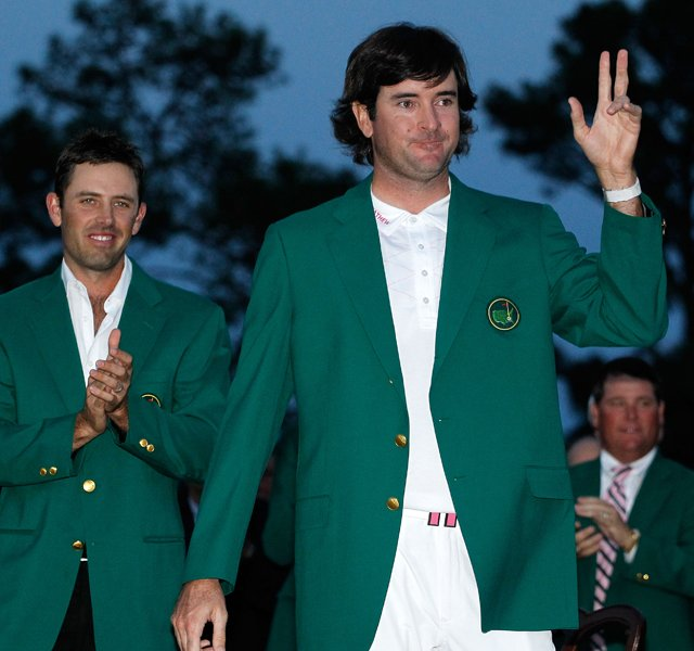 Bubba Watson&#39;s dramatic, two-hole playoff victory at the 2012 Masters goes down as one of the most memorable majors in history.