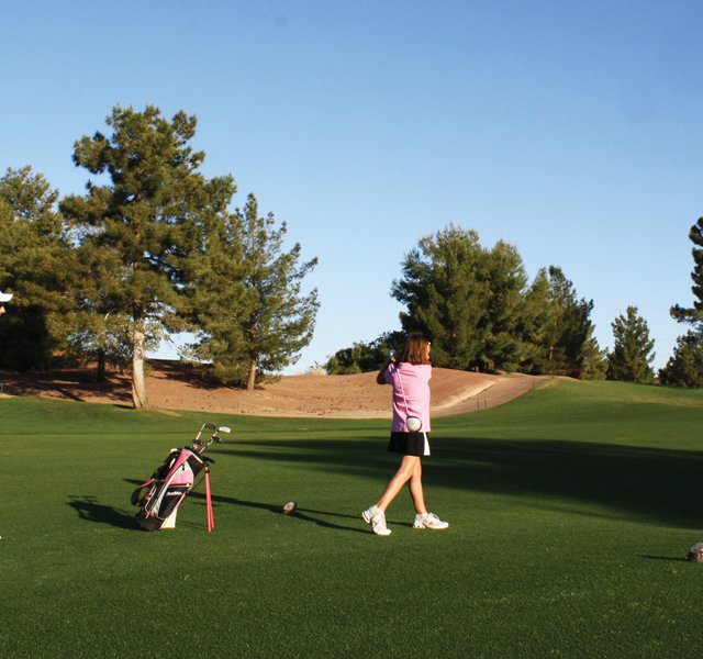 Phoenix's Raven Golf Club discovered that offering golf experiences that are family-oriented shouldn't mean just playing golf as a family. Rather, they say, it's about offering something for everyone in the family.